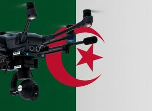 Flying drones in Algeria