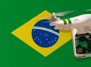 Flying drones in Brazil
