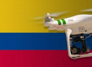 Flying Drones in Colombia
