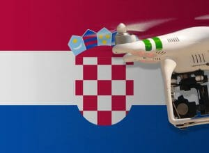 Flying drones in Croatia