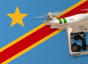Flying drones in the Democratic Republic of the Congo