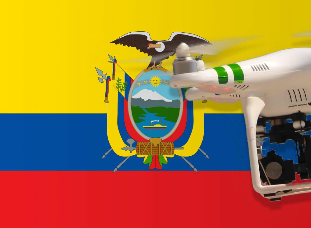 Flying Drones in Ecuador