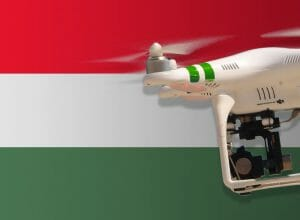 Flying drones in Hungary