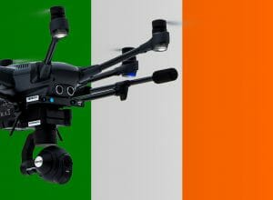 Flying drones in Ireland