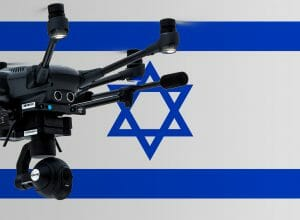 Flying drones in Israel
