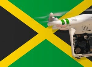 Flying drones in Jamaica