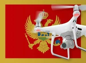 Flying drones in Montenegro