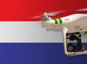 Flying drones in the Netherlands