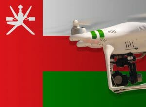 Flying drones in Oman