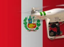 Flying drones in Peru
