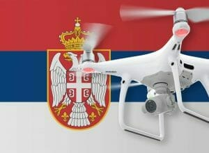 Flying Drones in Serbia