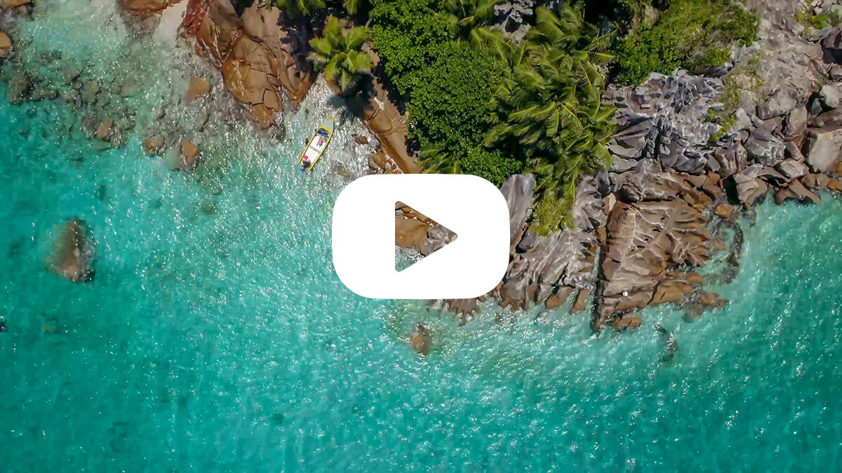 Flying drones in Seychelles