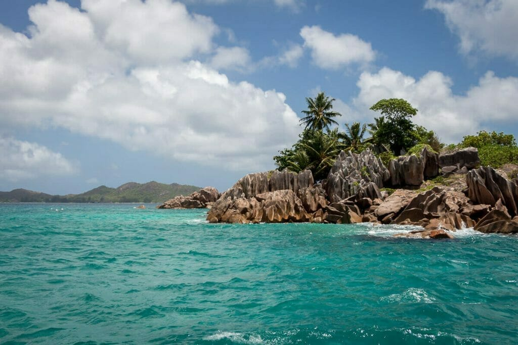 The small island of St. Pierre is a popular destination for snorkeling.