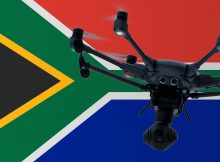 Flying drones in South Africa