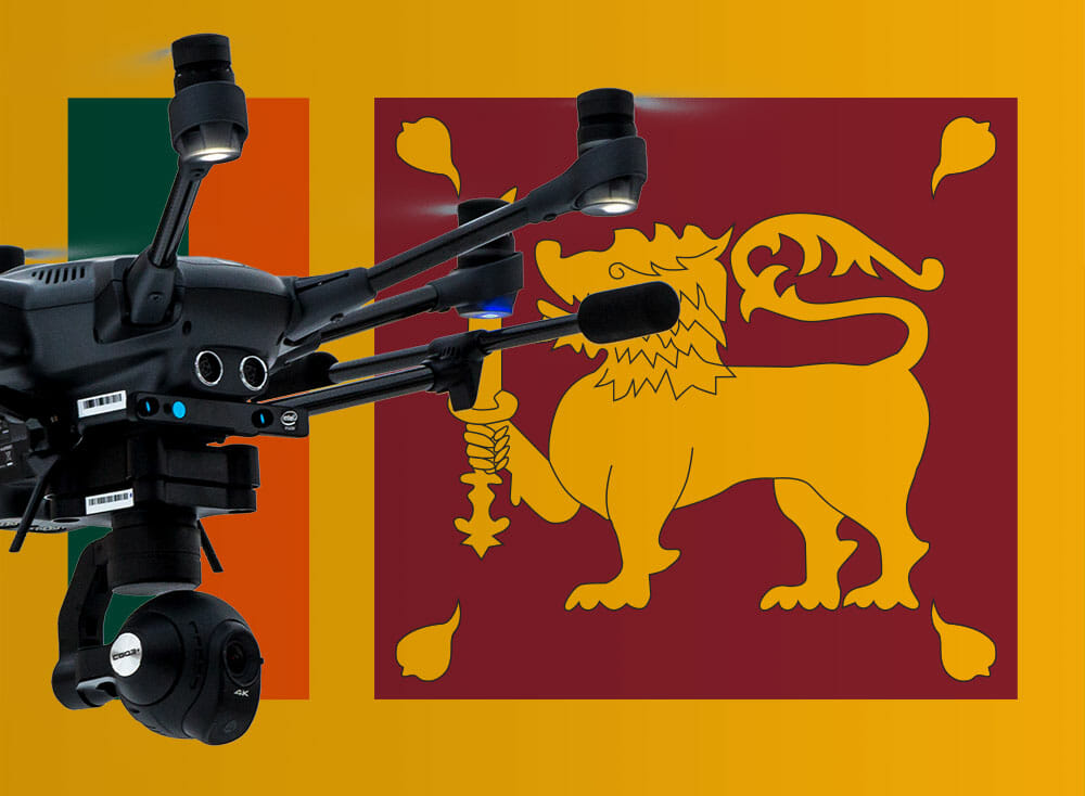 Drone rules and laws in Sri Lanka - current information and