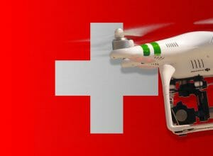 Flying drones in Switzerland