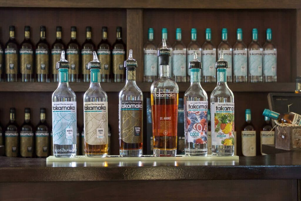 In Takamaka different rum varieties are produced