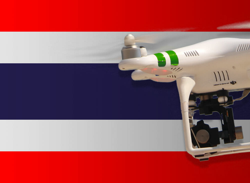 Drones in Thailand 2018: All information about laws and registration