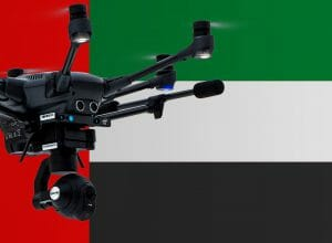 Flying drones in the United Arab Emirates