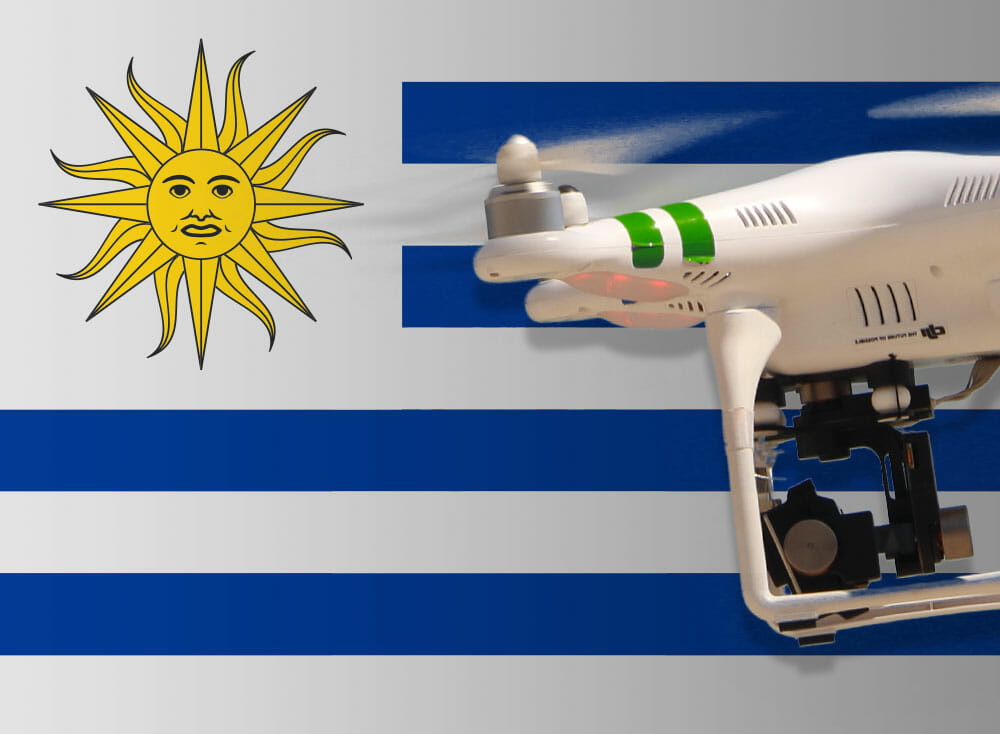 Flying drones in Uruguay