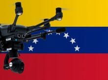Flying drones in Venezuela